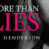 Cover Reveal - More Than Lies by N.E. Henderson