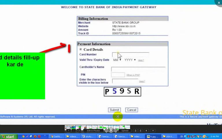 tam card ko net banking me kaise ragister ke liye use kare or kaise online ragister karte.