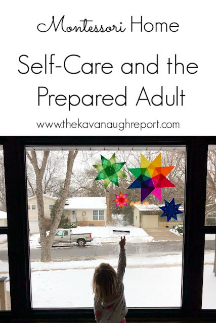 Self-care is an important part of being a Montessori prepared adult. Some thoughts on how we are making that work over the holidays,