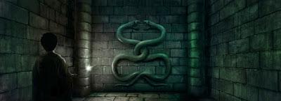 Due serpenti attorcigliati (Momento 3, vista 1)