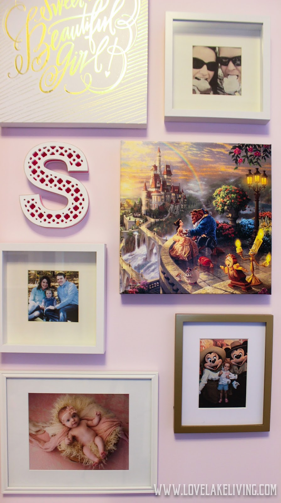 Love lake living 2017 the wall kind of has a disney theme going on and i kinda like it t minus 9 days until we see mickey again jeuxipadfo Choice Image