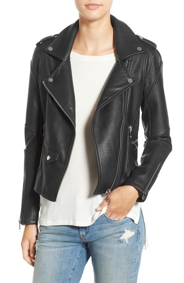 Best Faux Leather Jacket Under $100