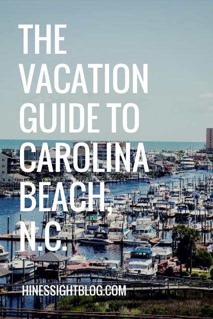 A North Carolina Travel Guide to Carolina Beach, NC off the Coast of Wilmington, N.C.