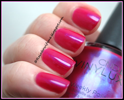 CND Vinylux Ecstacy and H&M December Dawn