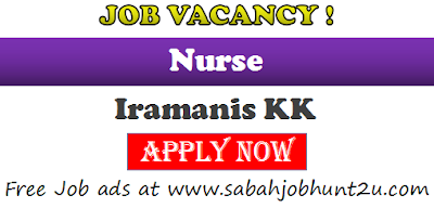 job vacancy for nurse kota kinabalu