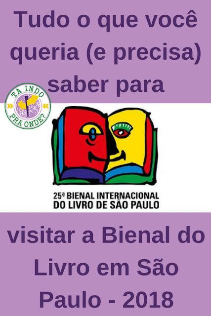 Bienal Internacional do Livro em São Paulo: dicas práticas para visitar a feira - como chegar, onde ficar, como é a feira, o que levar e muito mais