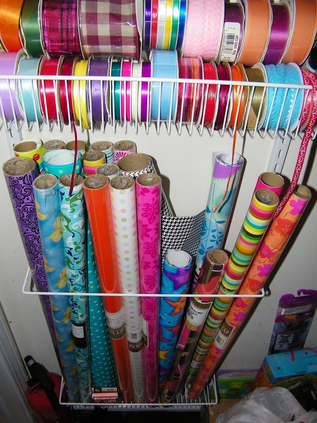 Mrs Nespy S World Wrapping Paper Storage And