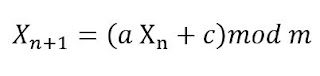 fungsi Linear Congruent Method