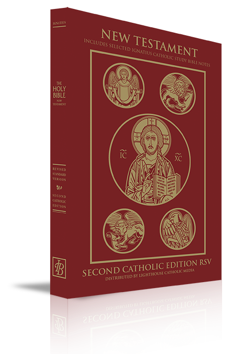 Catholic Bibles: Lighthouse Catholic Media RSV-2CE/ICSB NT