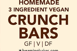 3 Ingredient Homemade Crunch Bars