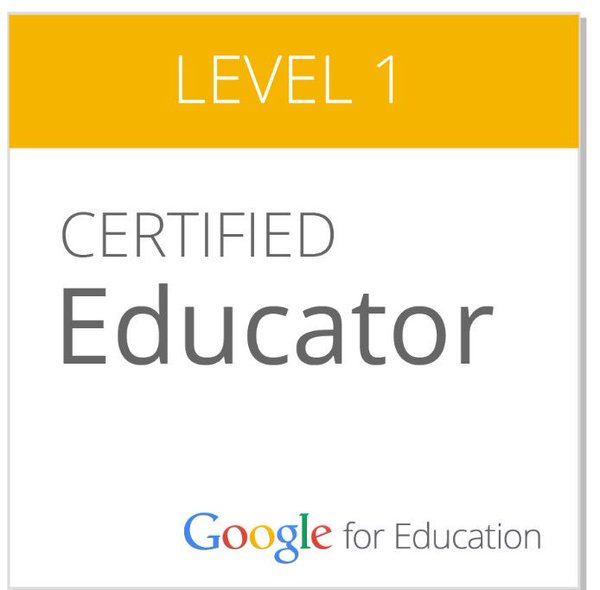 The Journey to Google Certification Level 1 - EdTechTeam