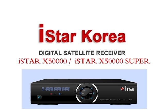 NOVA ATUALIZAÇÃO iSTAR X50000 / iSTAR X50000 SUPER   V37.25 - 22/08/2016