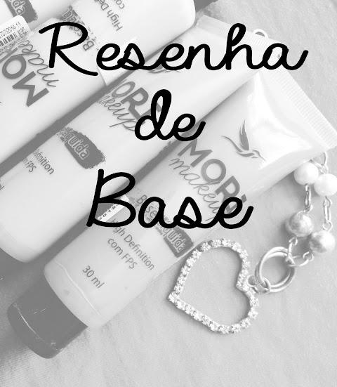 Base Mori Makeup - Resenha