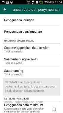 agar gambar di whatsapp tidak tersimpan di galeri iphone