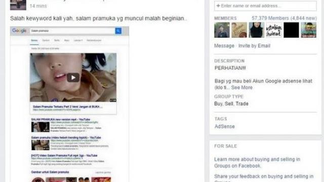 Berani Coba?? Ketik Salam Pramuka di Google yang Muncul di Atas Malah Gambar Tak Terduga