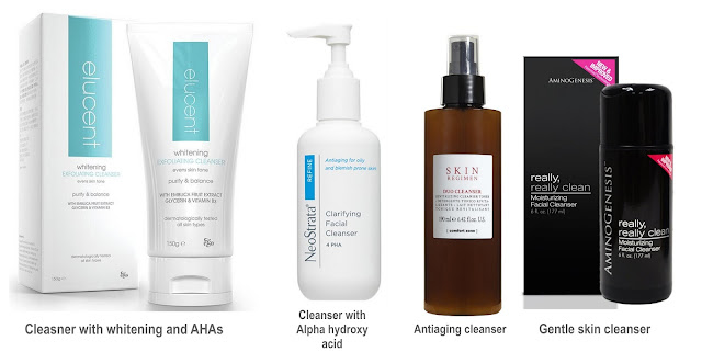 cleansers for 40 year old skin