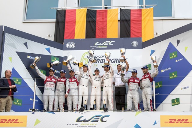Porsche takes second consecutive Nürburgring victory; Ferrari 1-2 in GTE