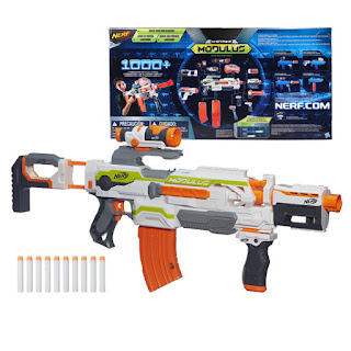 Súng Nerf Gun Bắn Pin Modulus ECS 10
