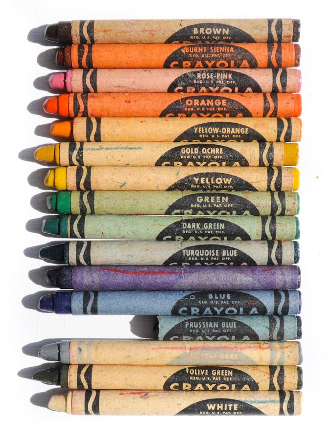 Crayola Crayon Drawing : crayola, crayon, drawing, Crayola, Drawing, Crayon:, What's, Inside, Jenny's, Crayon, Collection