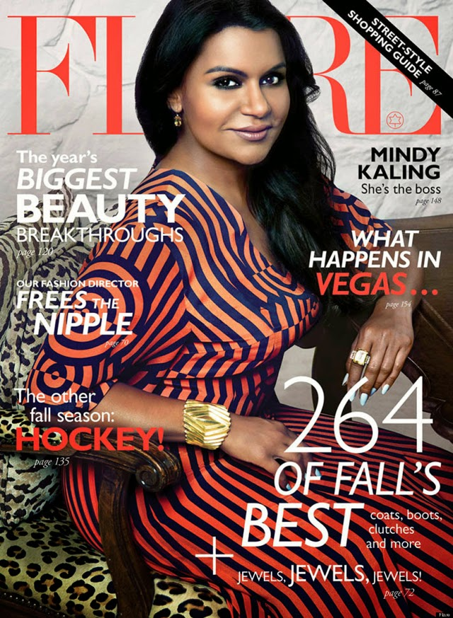 Mindy  Kaling Flare cover