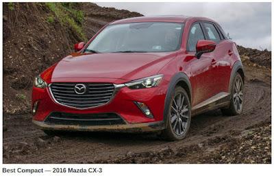 2016 Mazda CX-3 MUDFEST Compact Crossover Winner