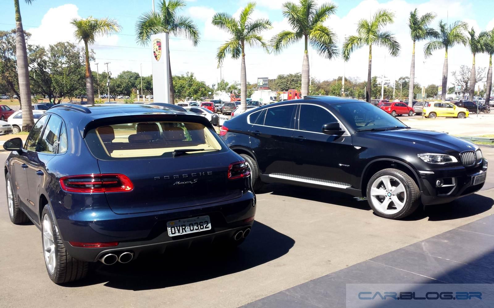 Porsche Macan X Bmw X6 Preco Performance E Tecnologia Car Blog Br
