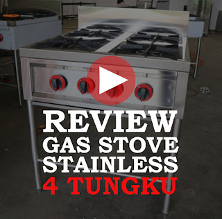 Review Gas Stove Stainless 4 Tungku Reymetal