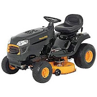 Poulan Pro 15.5 hp Automatic Hydrostatic Transmission Drive Riding Mower