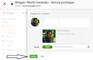 Cara Membuat Blog dengan Postingan Perdana di Blogspot