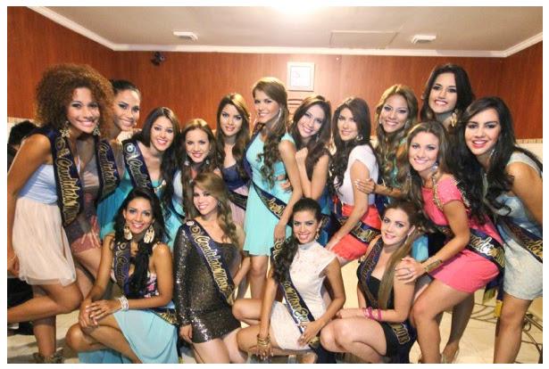 candidatas miss ecuador 2013