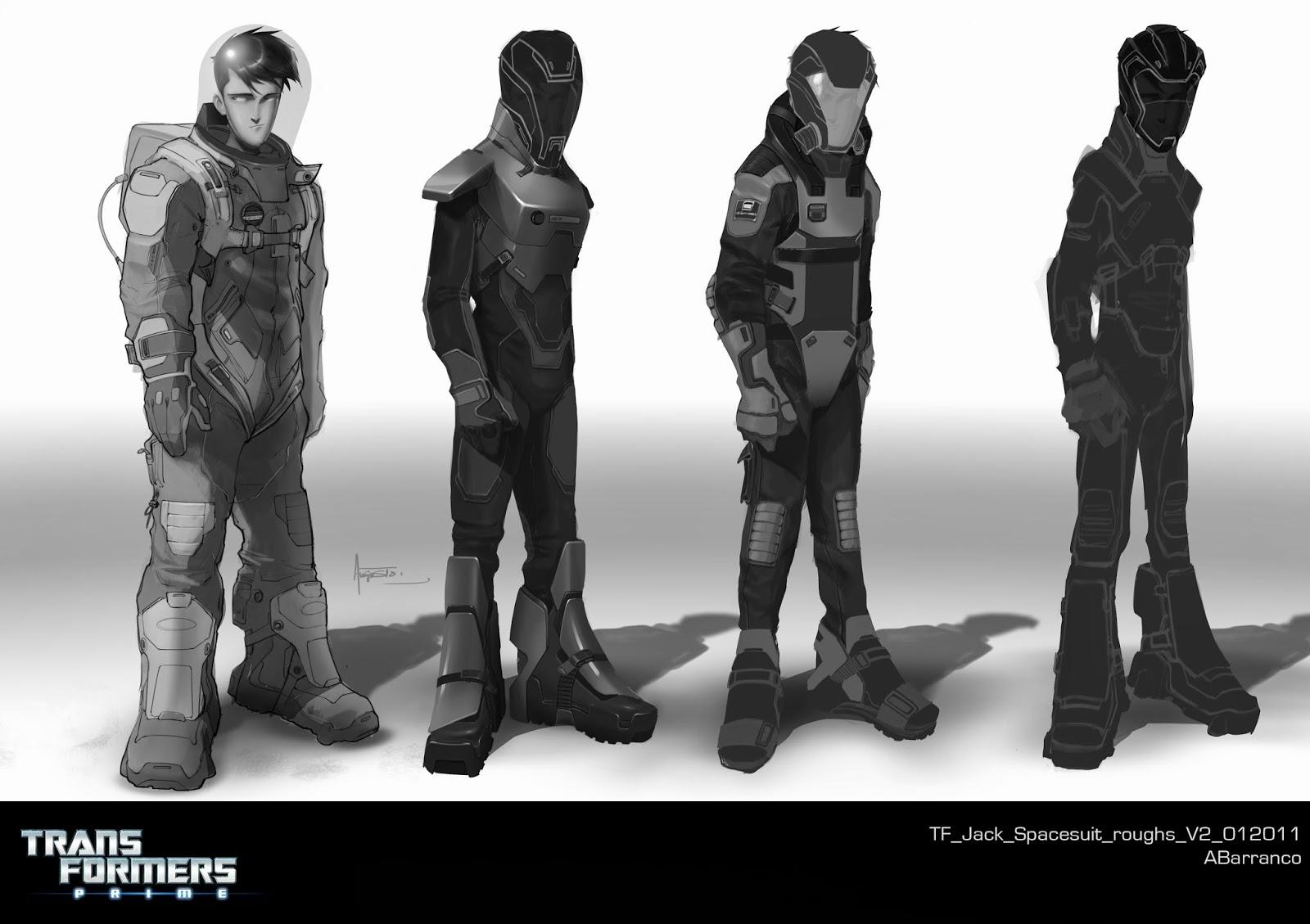 Augusto Barranco: Optimus Prime Orthographic