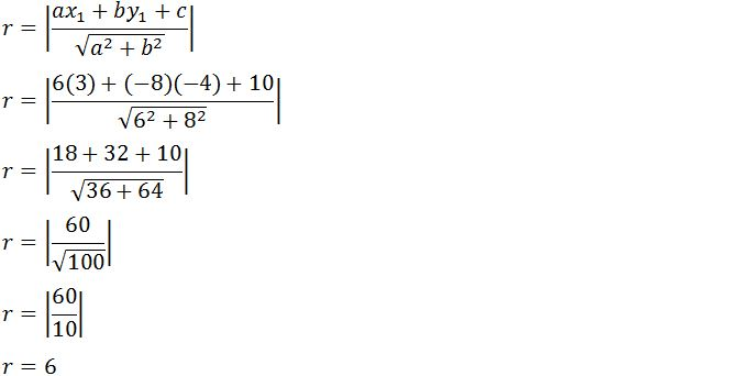 Soal Soal Persamaan Lingkaran Beserta Jawabannya Soal Soal Persamaan Lingkaran Beserta Jawabannya