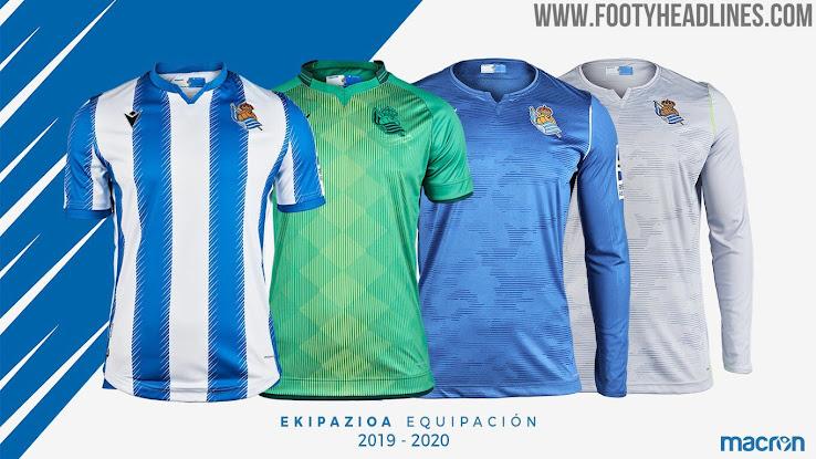 Real Sociedad 19-20 Home & Away Kits Released - Footy Headlines