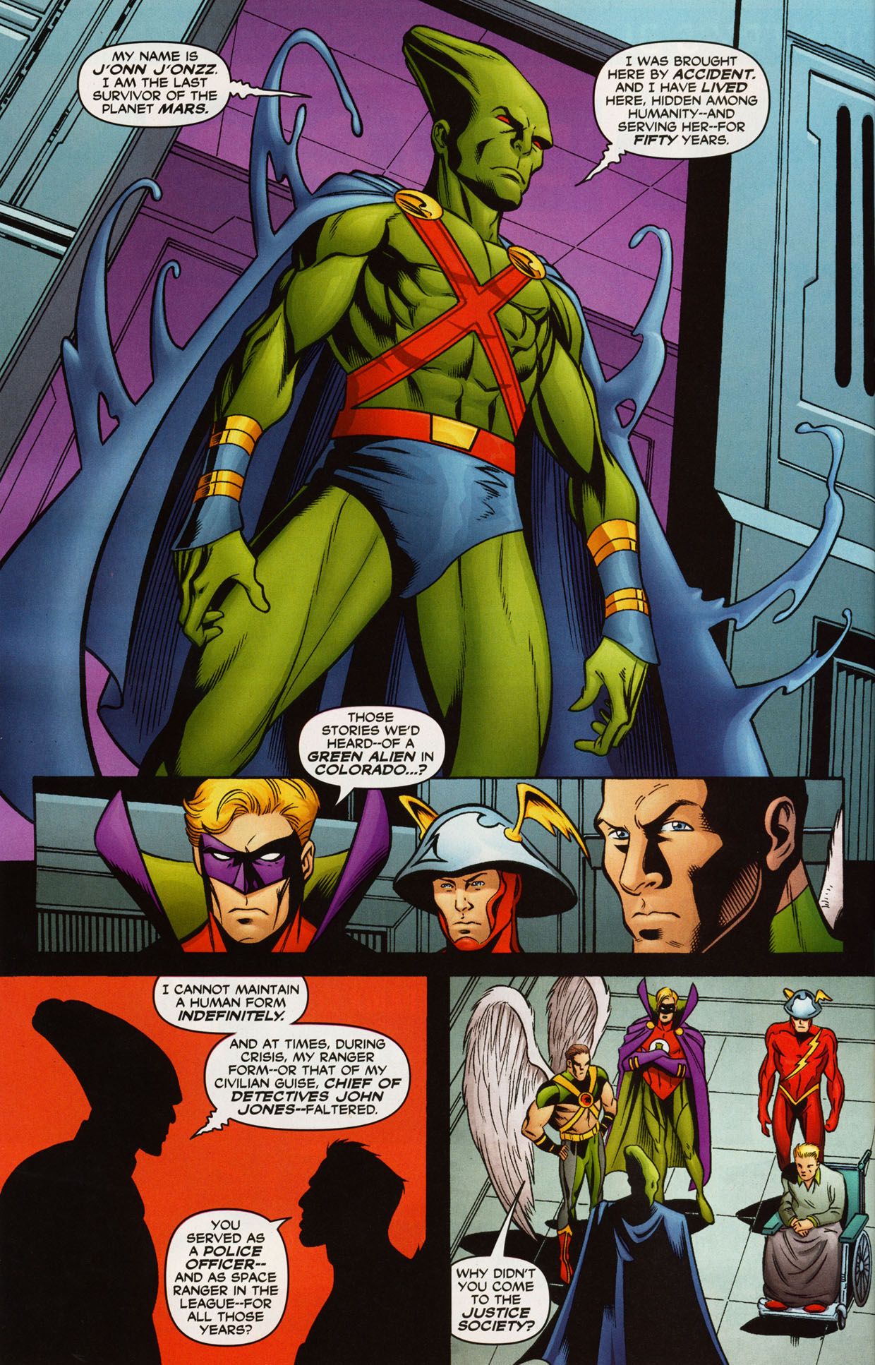 Read online Trinity (2008) comic -  Issue #38 - 27
