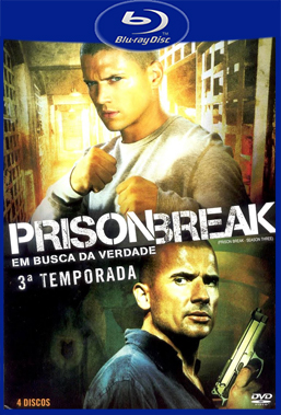 Prison Break 3° Temporada (2008) BluRay Rip 720p Torrent Dublado