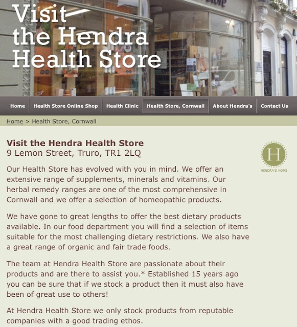 Hendra Truro shop review