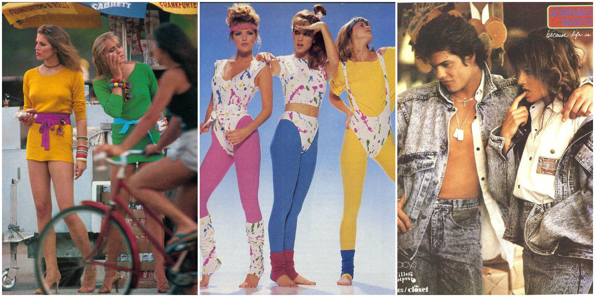 27 Worst  80s Fashion Trends   vintage everyday The  80s were all about pushing the limits in terms of colors  prints  and  geometric shapes  People weren t afraid to mix materials  patterns   stripes