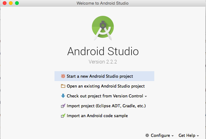 Android development tutorial : Installing Android Studio ...