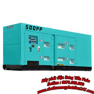 Máy phát điện Denyo 500kva