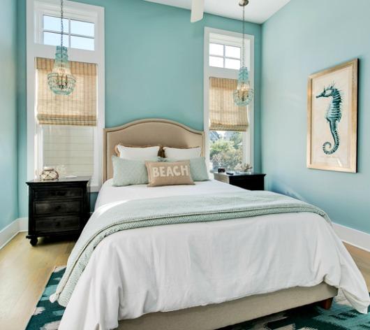 Turquoise Decor Ideas for the Bedroom - Coastal Decor ...