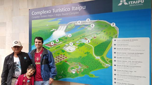 Visita Hidrelétrica Itaipu