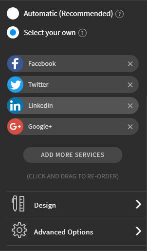 Cara membuat widget share postingan ke medsos