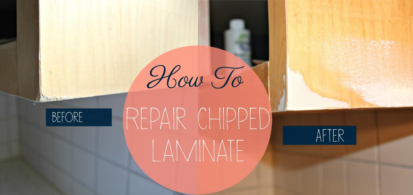 Diy Series Kitchen Redo How To Repair Chipped Laminate