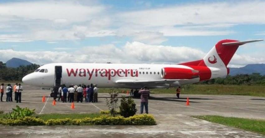 Inauguran vuelos Lima - Rioja en la región San Martín luego de 24 años