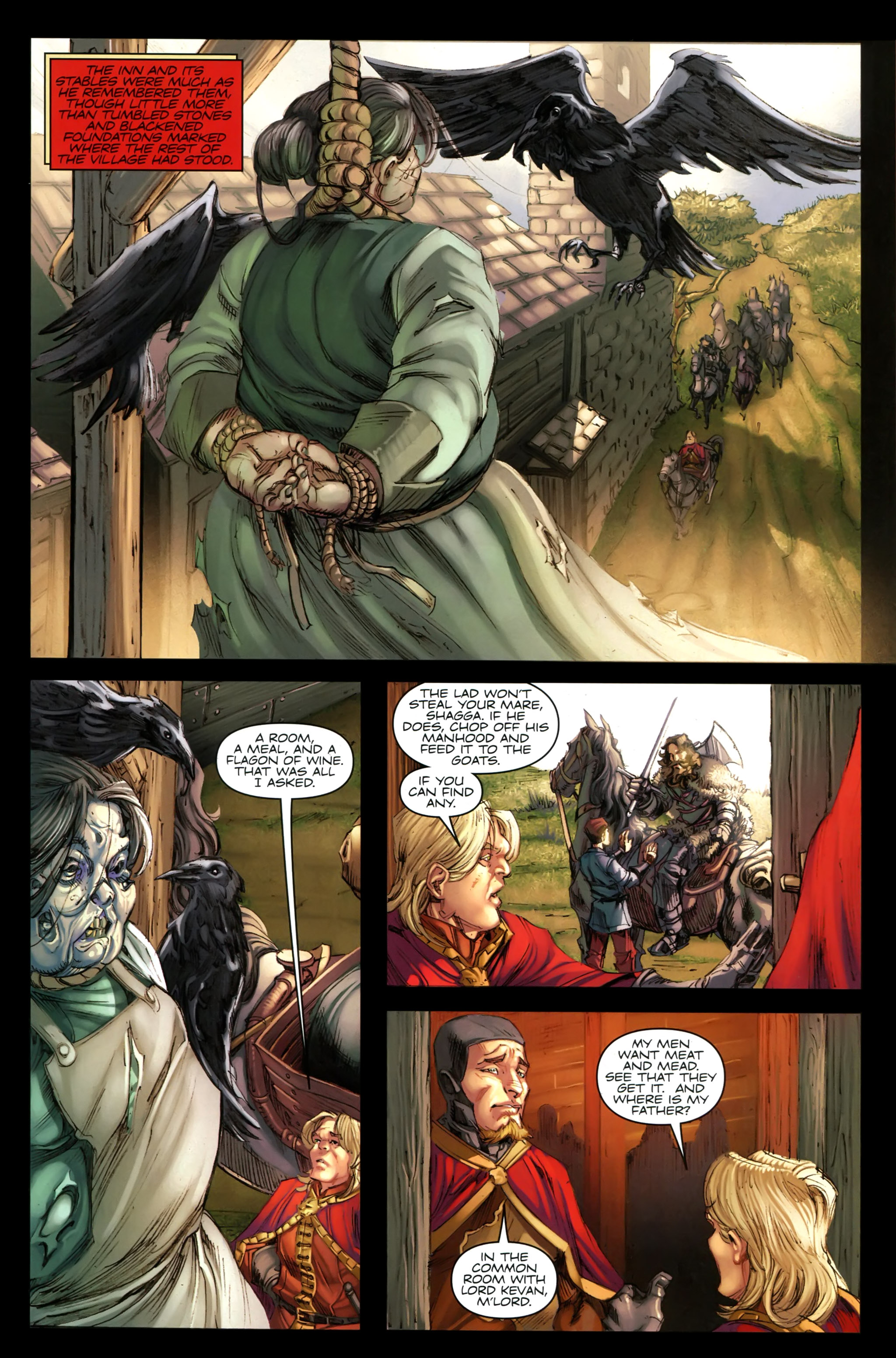 Read online A Game Of Thrones comic -  Issue #19 - 7
