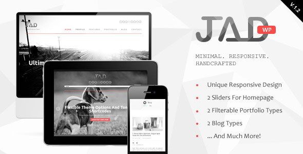Free Download Jad v1.2.1 Creative Wordpress Theme