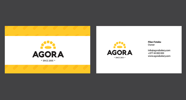 Inspirasi Desain Branding Identity - Agora Branding