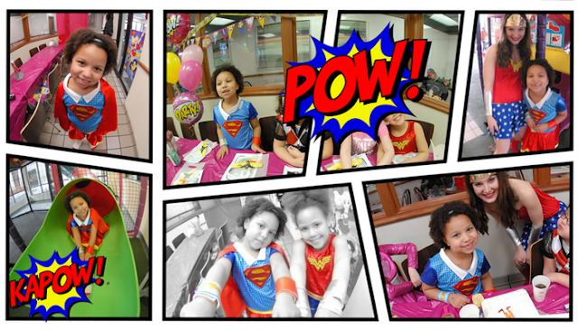 Party like a Superhero + Free printables