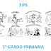 TIPS (material de apoyo) 5° PRIMARIA CICLO ESCOLAR 2018-2019.