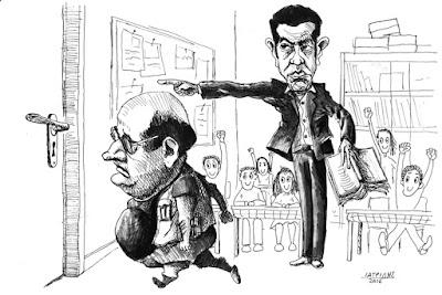 IaTriDis Γελοιογραφίες Ο Φίλης εκτός κυβέρνησης